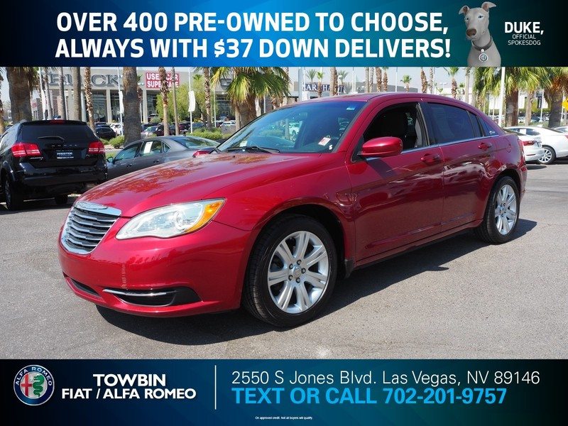 Pre-Owned 2013 CHRYSLER 200 4DR SDN LX