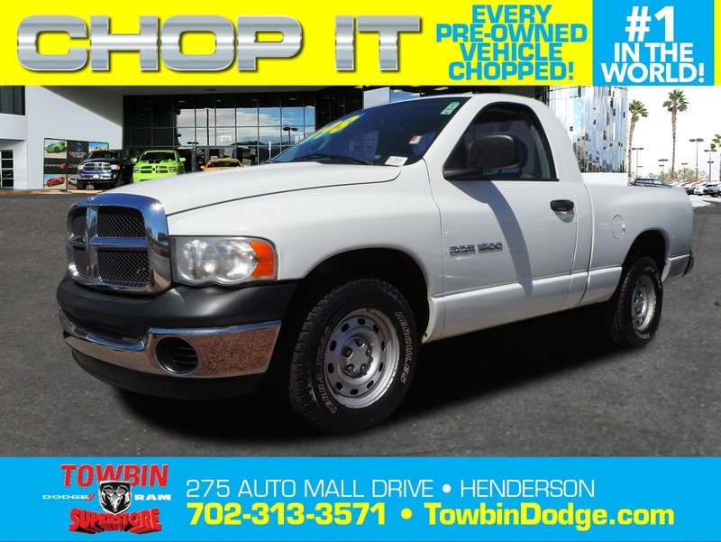 Pre-Owned 2005 DODGE RAM 1500 WORK SPECIAL