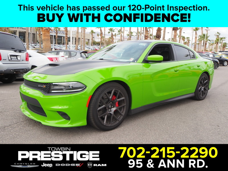 Pre-Owned 2017 DODGE CHARGER R/T SCAT
