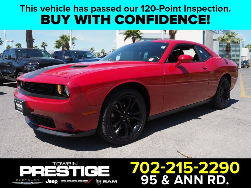 Pre-Owned 2016 DODGE CHALLENGER 2DR CPE SXT PLUS