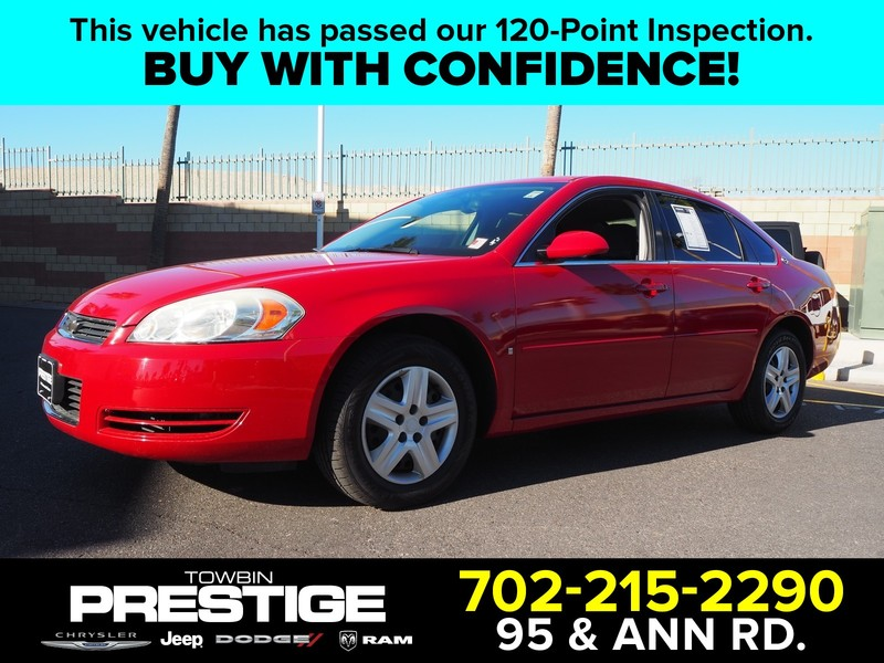 Pre-Owned 2008 CHEVROLET IMPALA 4DR SDN LS