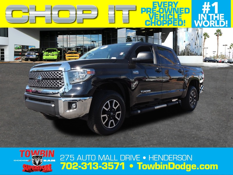 Pre-Owned 2018 TOYOTA TUNDRA SR5 TRD 4X4