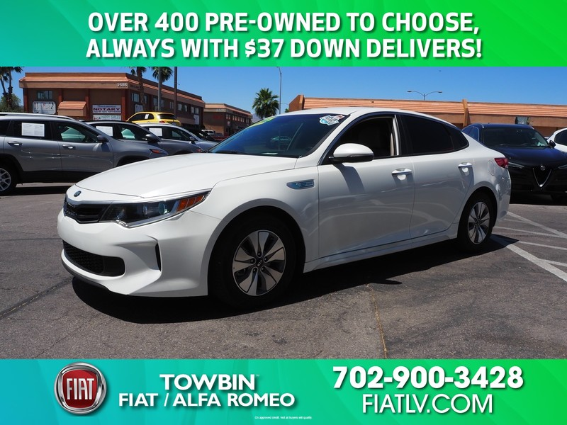 Pre-Owned 2017 KIA OPTIMA HYBRID PREMIUM